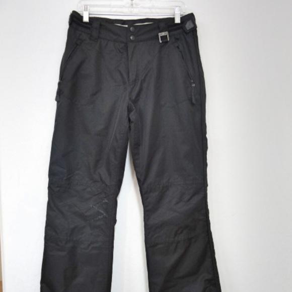 4427ede7714 Ocean & Earth Basic Black Snowboard/Ski Pants